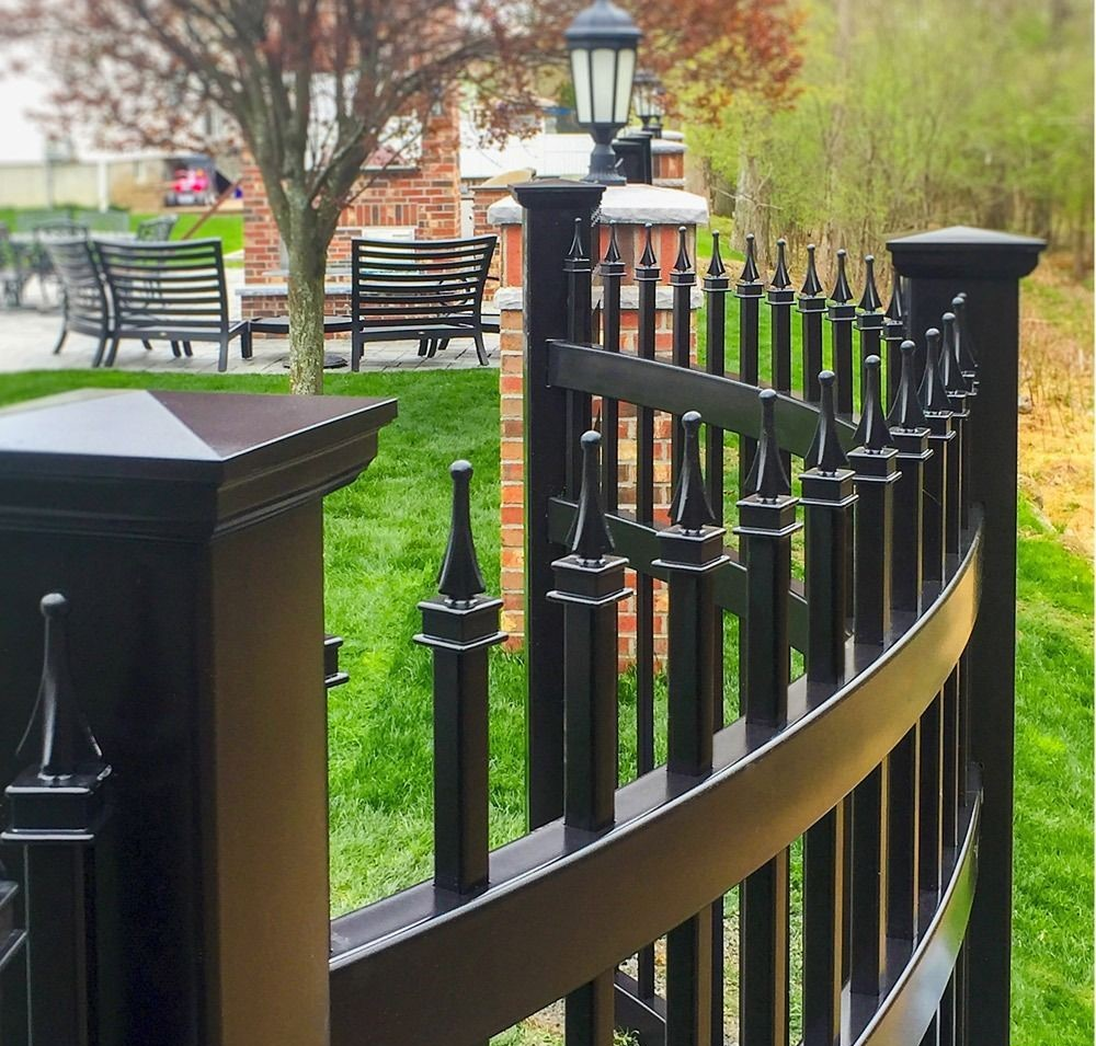 Classic Metal Fence Ideas