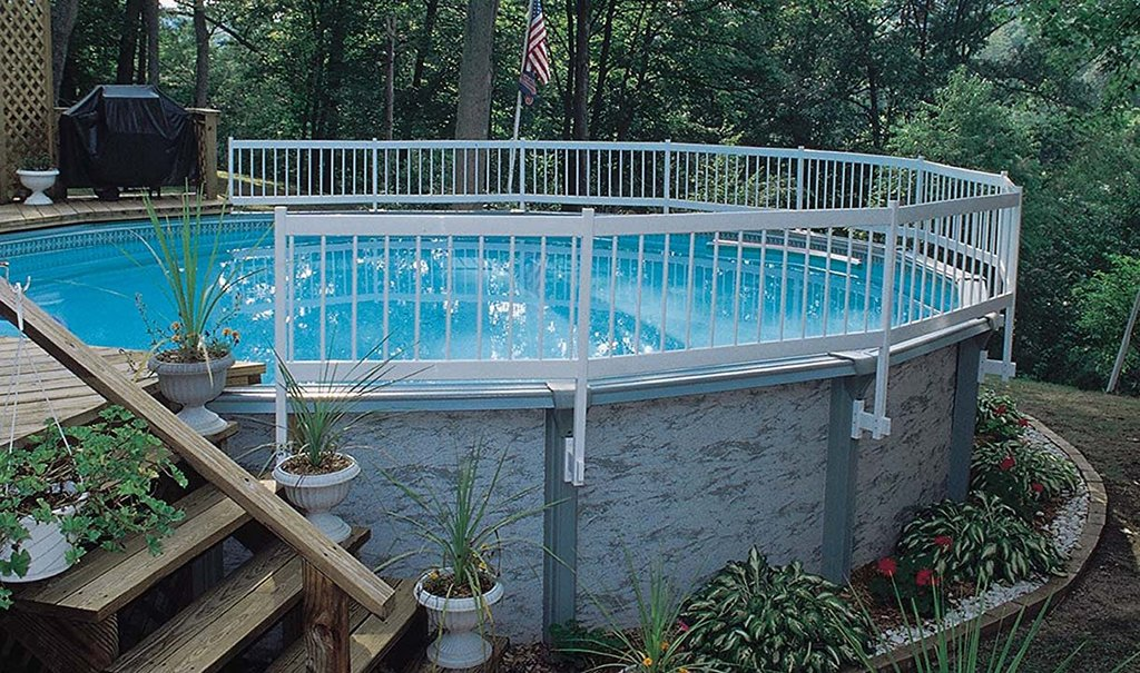 Fence for Ground Pool Ideas