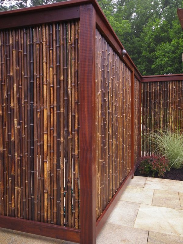 Privacy Fence with Reed Ideas