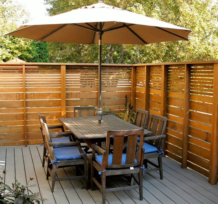Rustic Privacy Fence Ideas