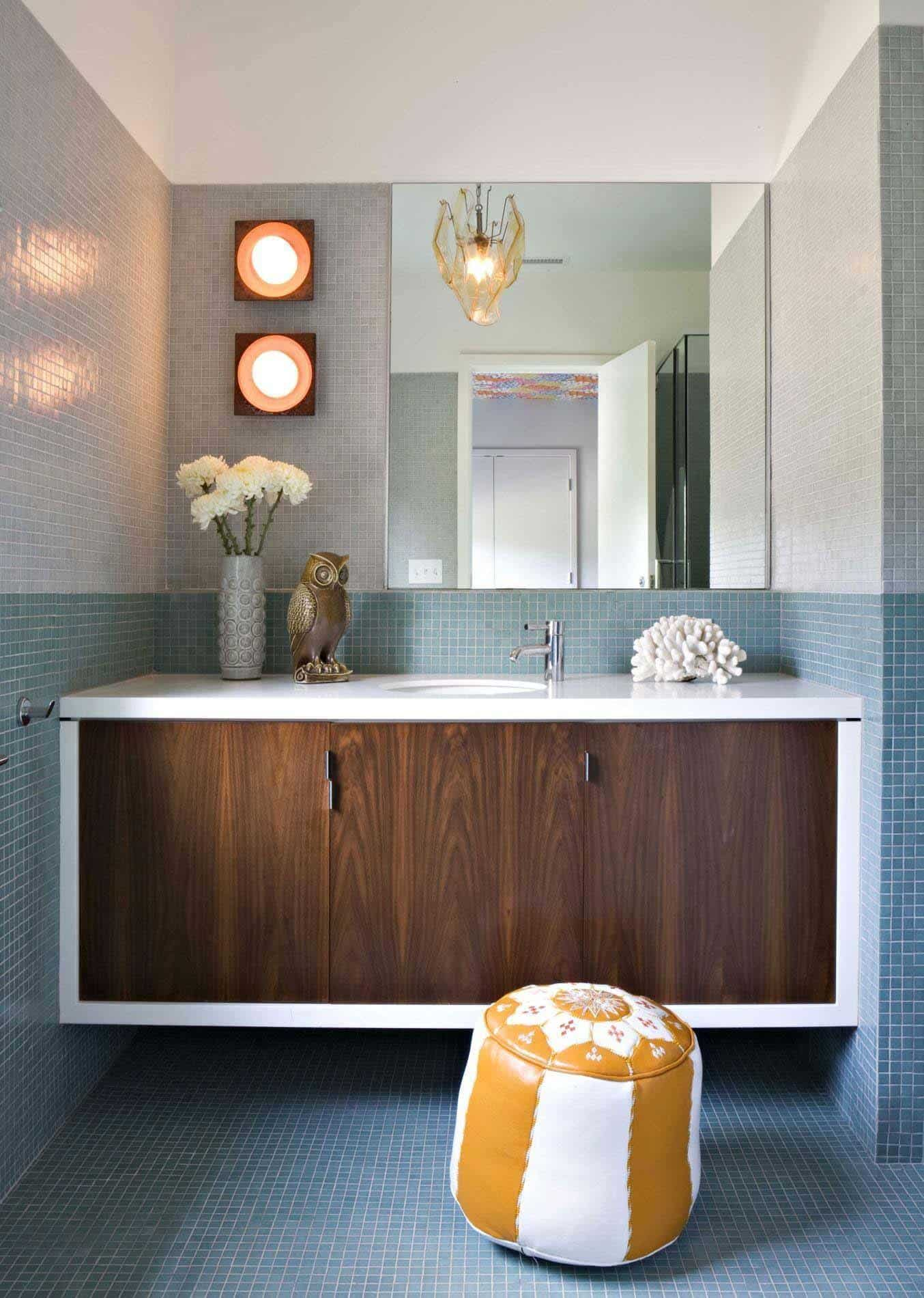 Image of: 30 Awesome Mid Century Modern Bathroom Ideas You Should See This Year