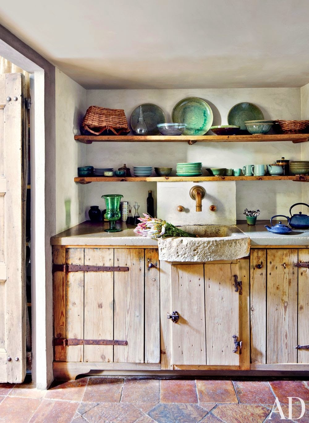 Rustic simple Kitchen Cabinets