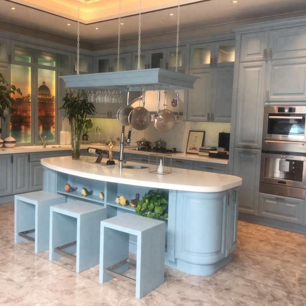 Styled Kitchen Cabinets