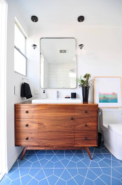 bathroom mirror and cabinet ideas