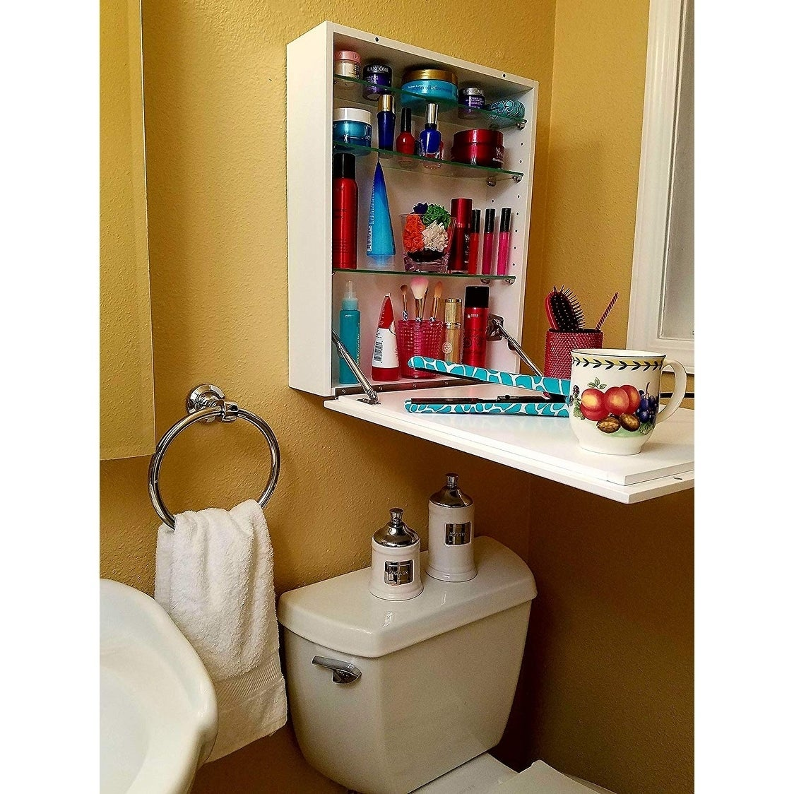 bathroom cabinet configuration ideas