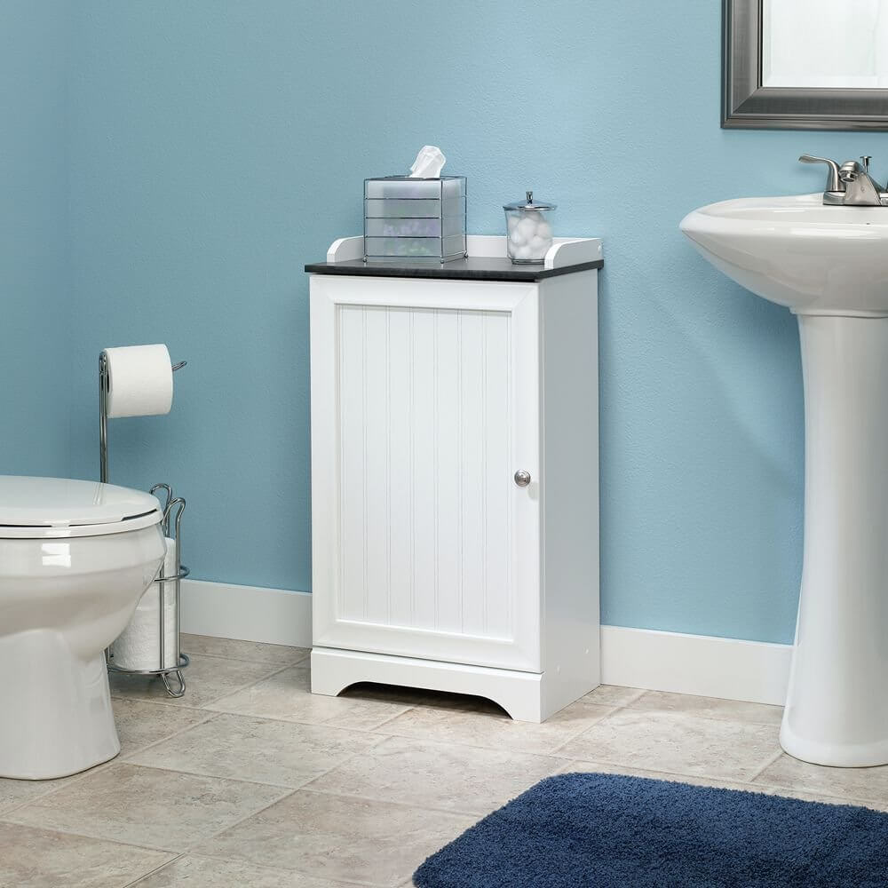 blue bathroom cabinet ideas