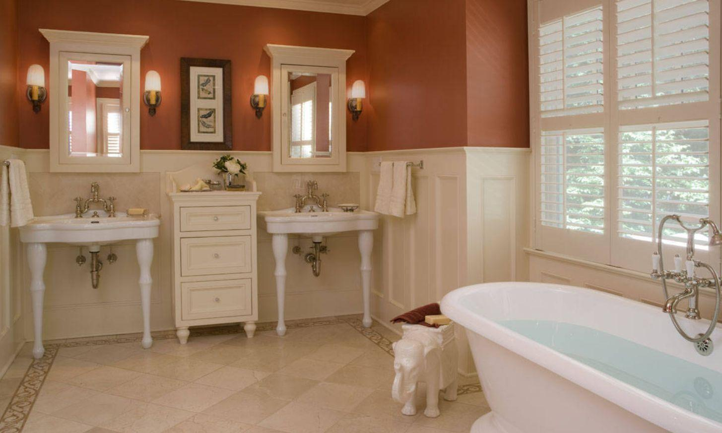 beadboard wainscoting bathroom height