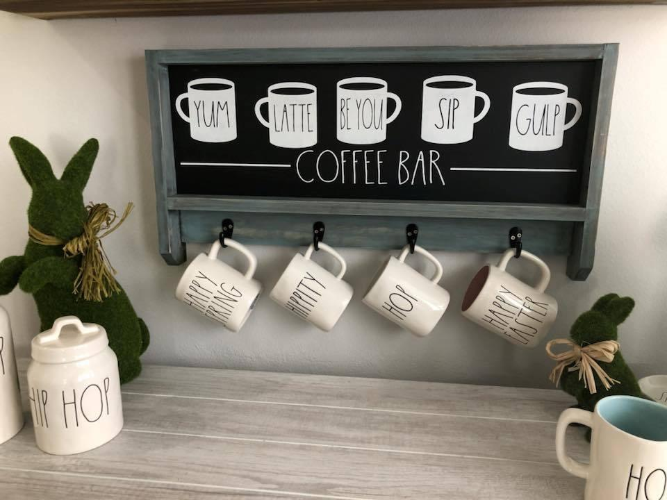 coffee station built in