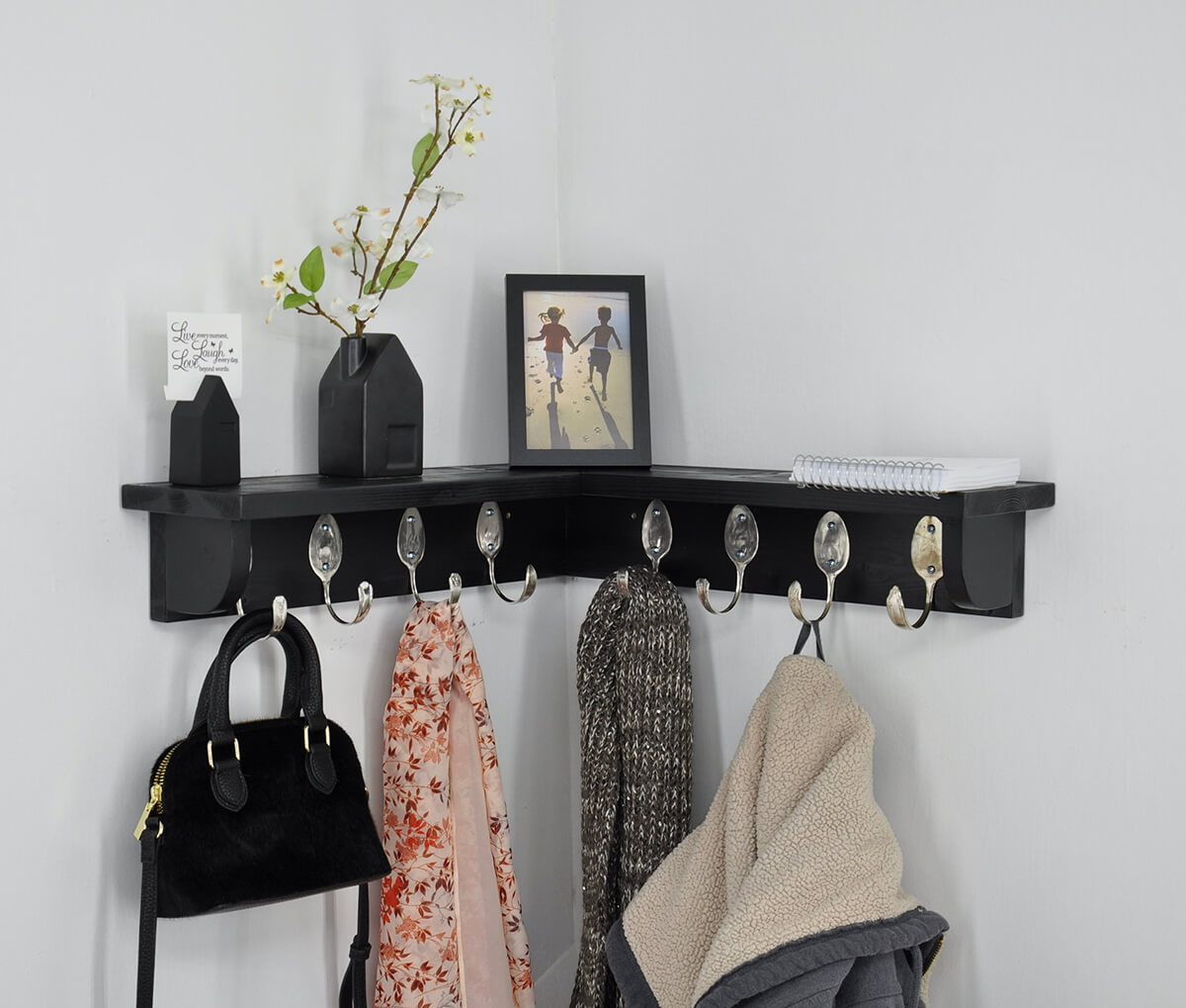 corner shelves and cabinets