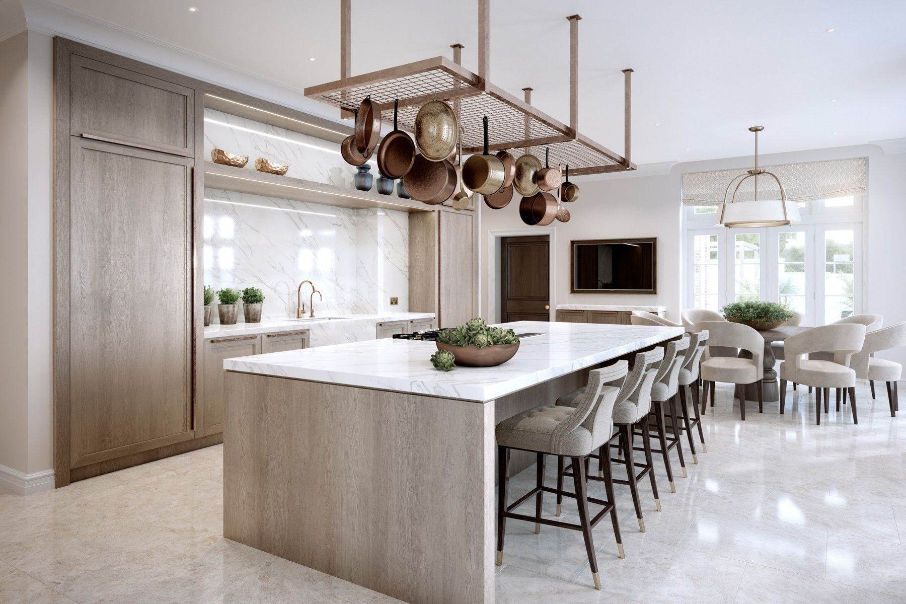 what makes a luxury kitchen