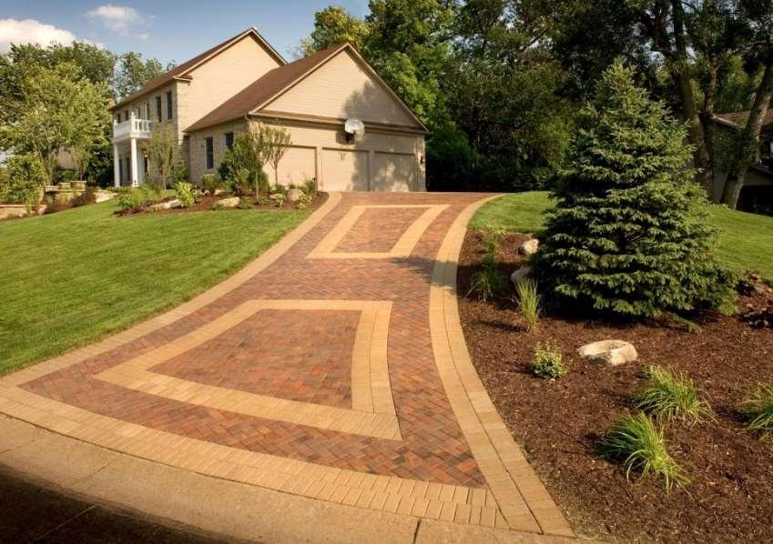 driveway lighting ideas pictures