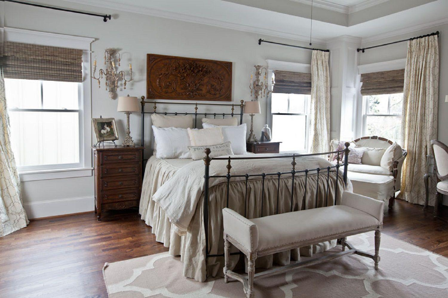 farmhouse master bedroom decor