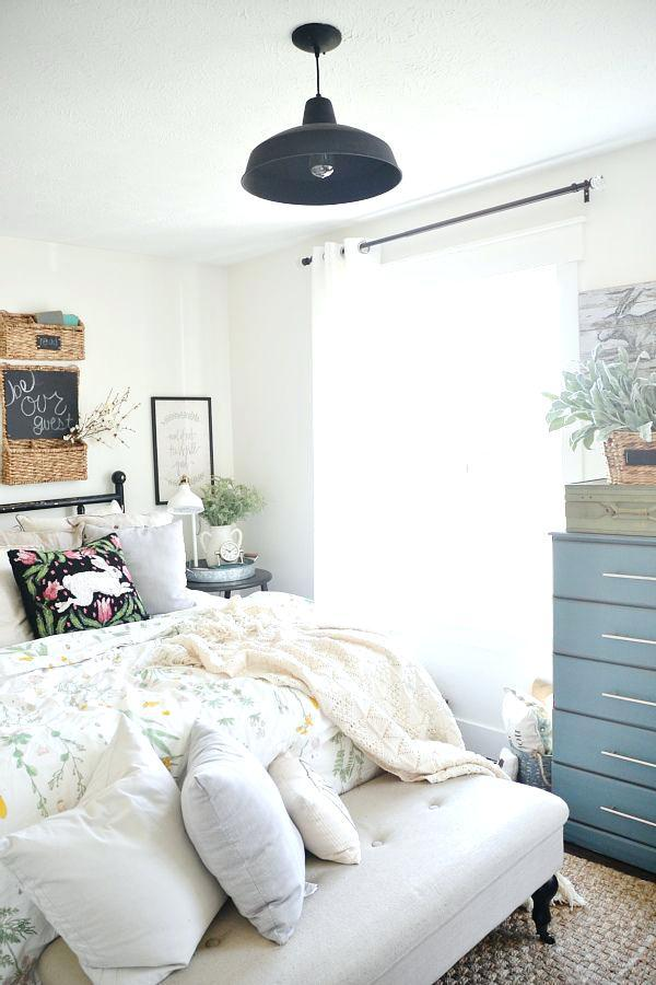 modern farmhouse bedroom nightstands