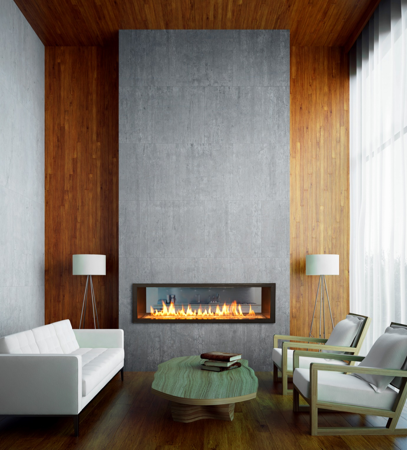 fireplace tile labor cost