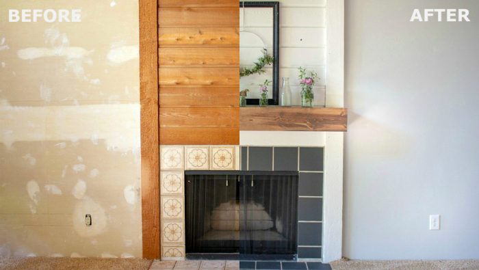 fireplace tile murals