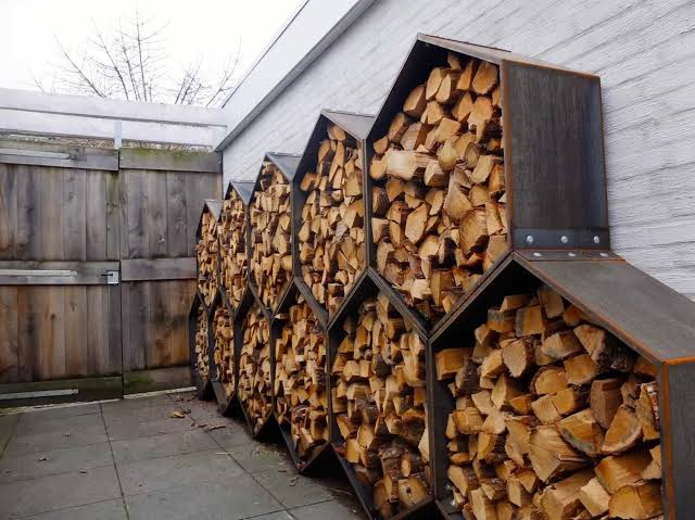 firewood storage wayfair