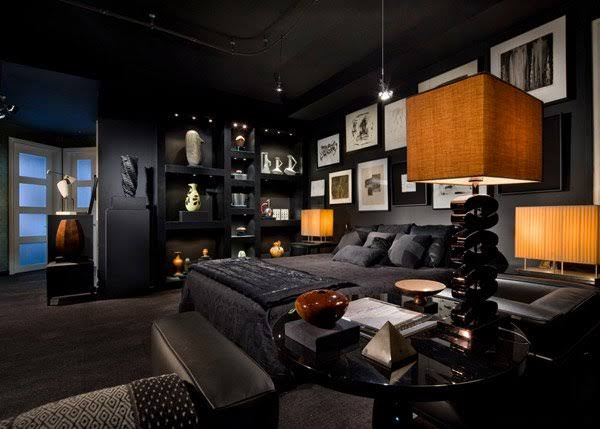 gothic bedroom design