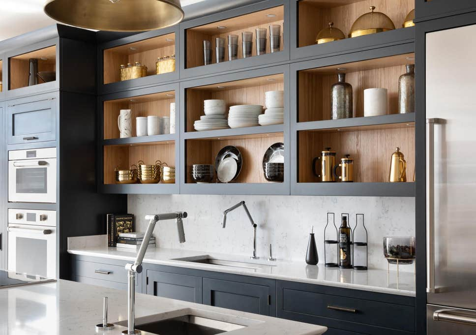 luxury kitchen bins