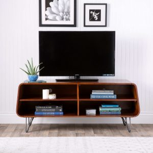reginald mid century modern tv stand