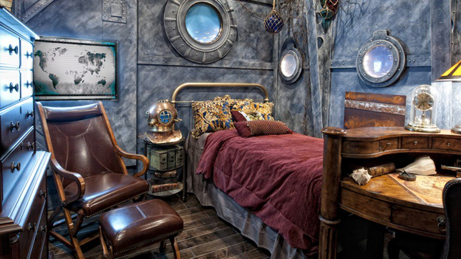 steampunk decor au