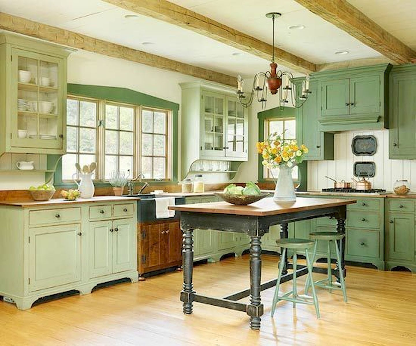 farmhouse kitchen trends 2019