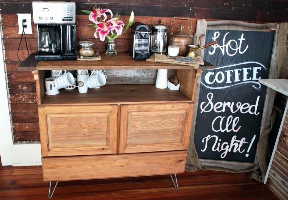 the coffee station at landis valley