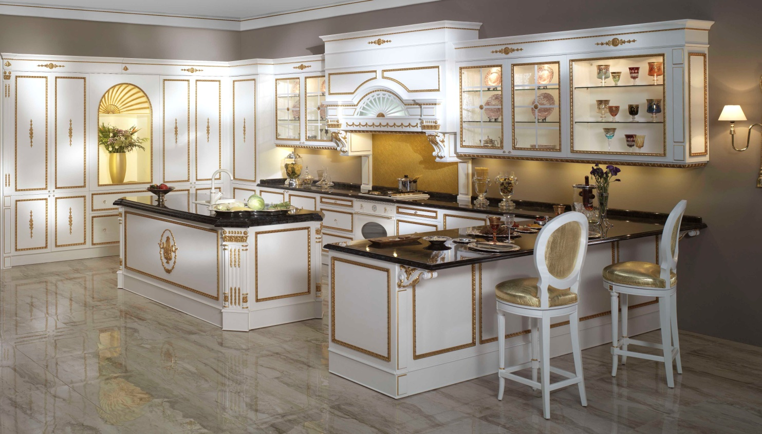 cost of a luxury kitchen