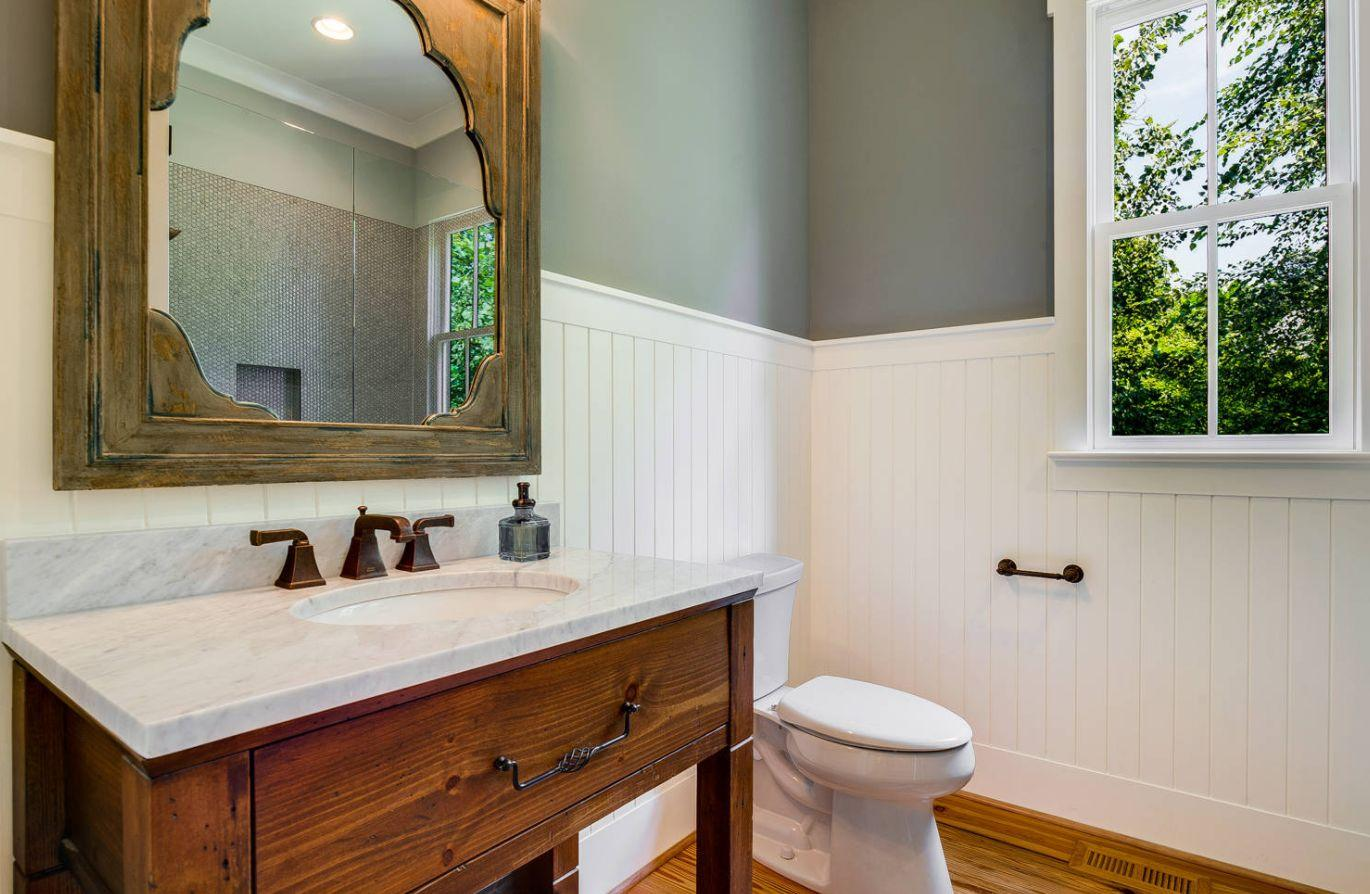 wainscoting in a bathroom pictures