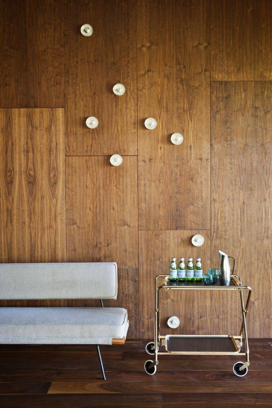 wall paneling as flooring