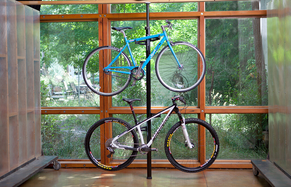 bike storage ideas for small spaces