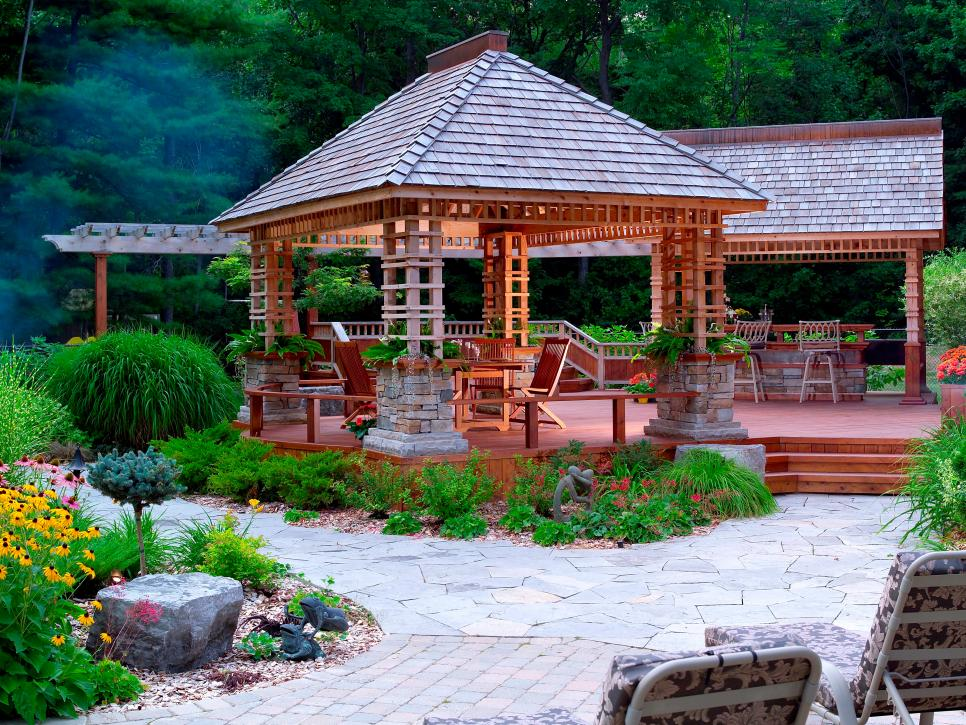 decorating a gazebo ideas
