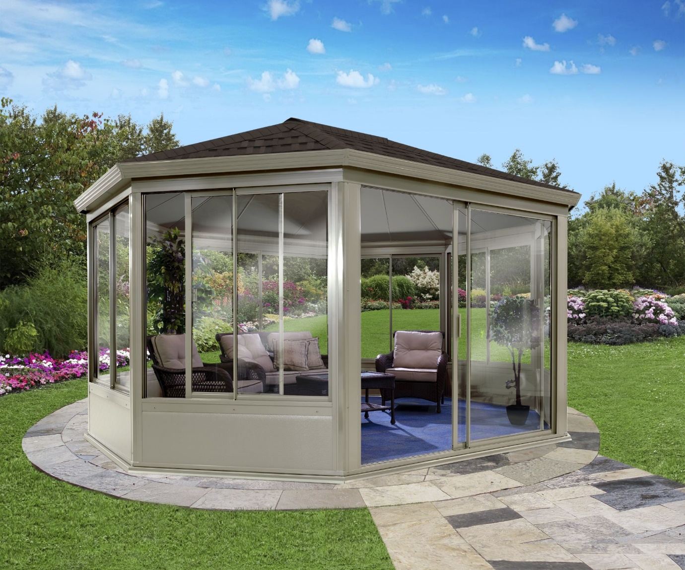 gazebo base ideas