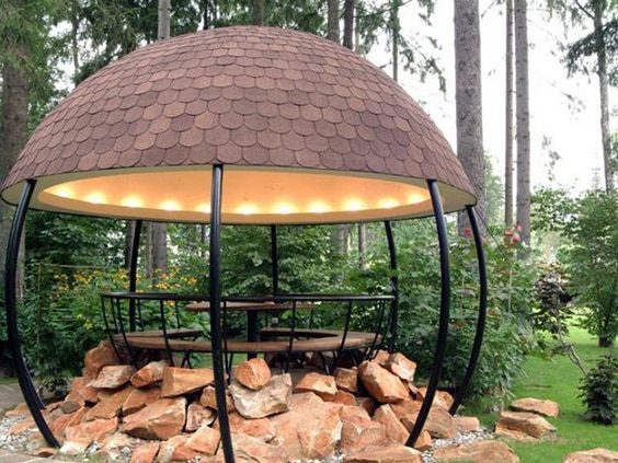 gazebo canopy ideas