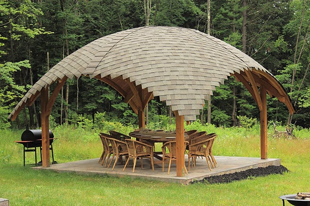 gazebo color ideas