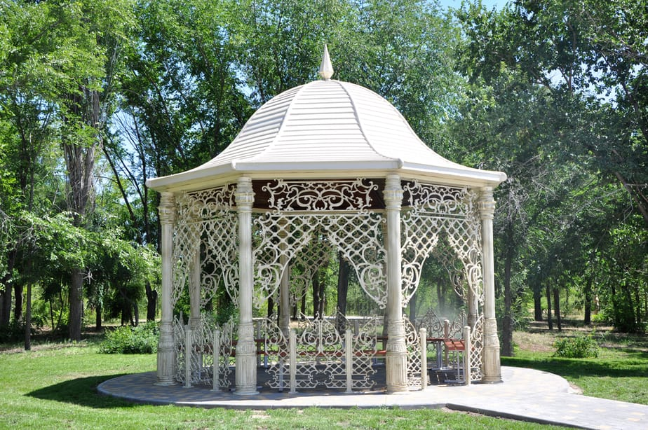gazebo bar ideas