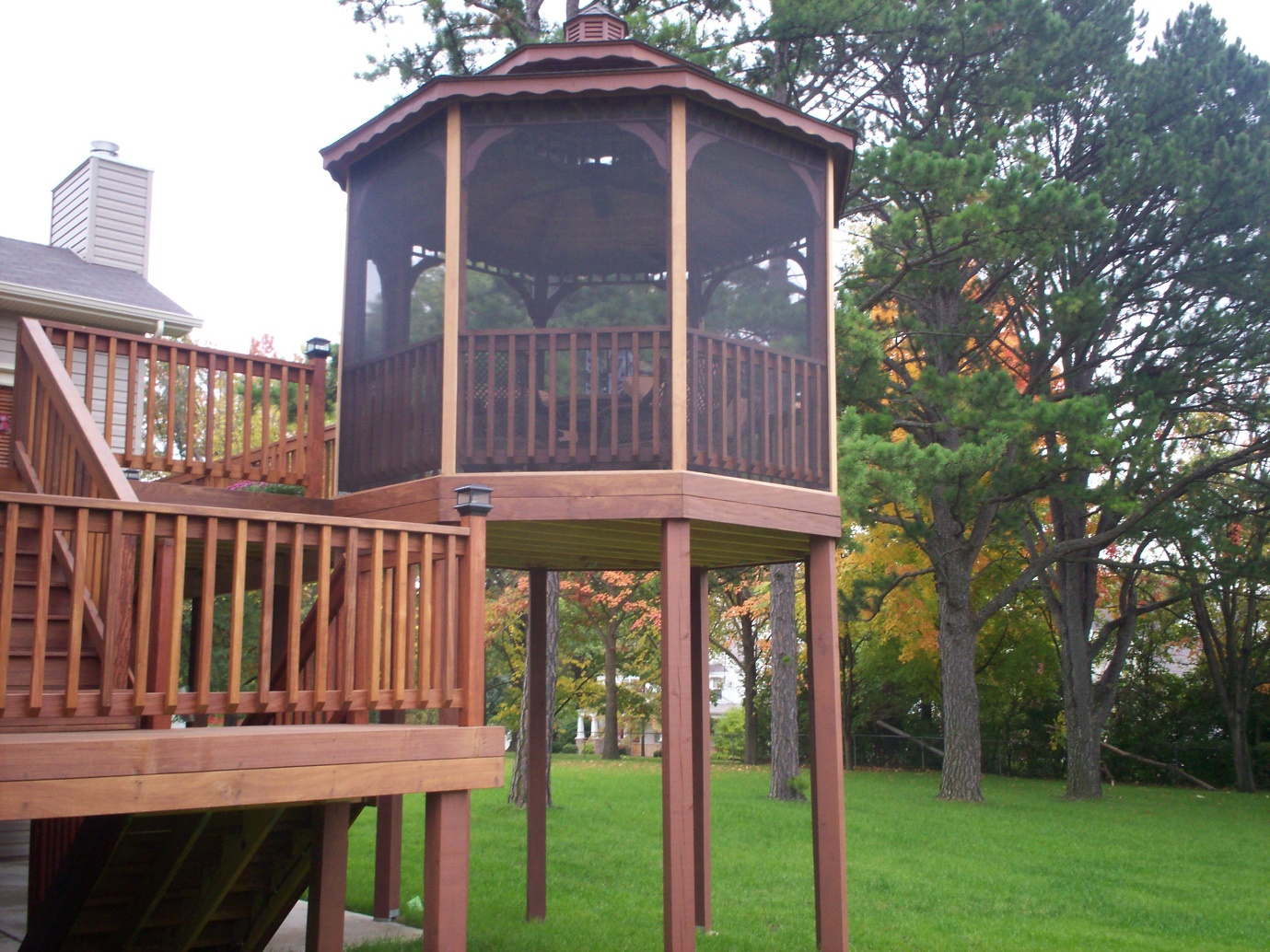 gazebo accessories ideas