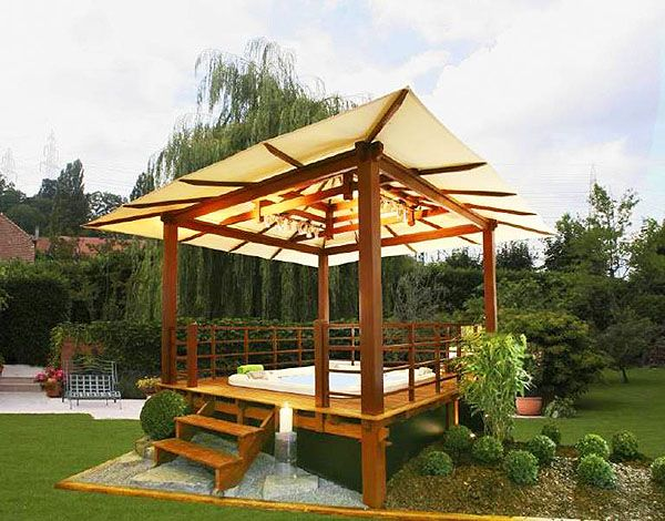 gazebo ideas for decks