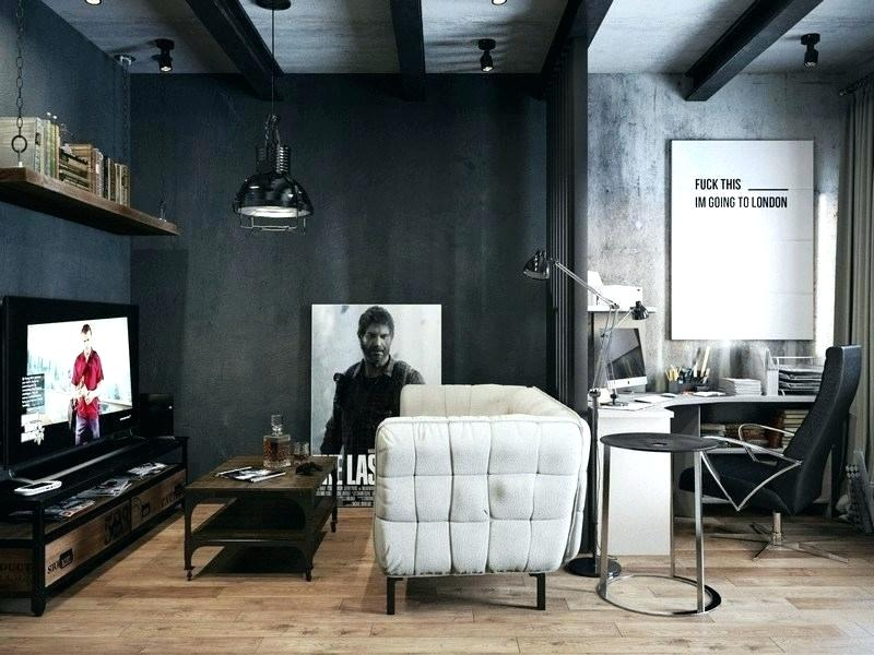 industrial living room side tables