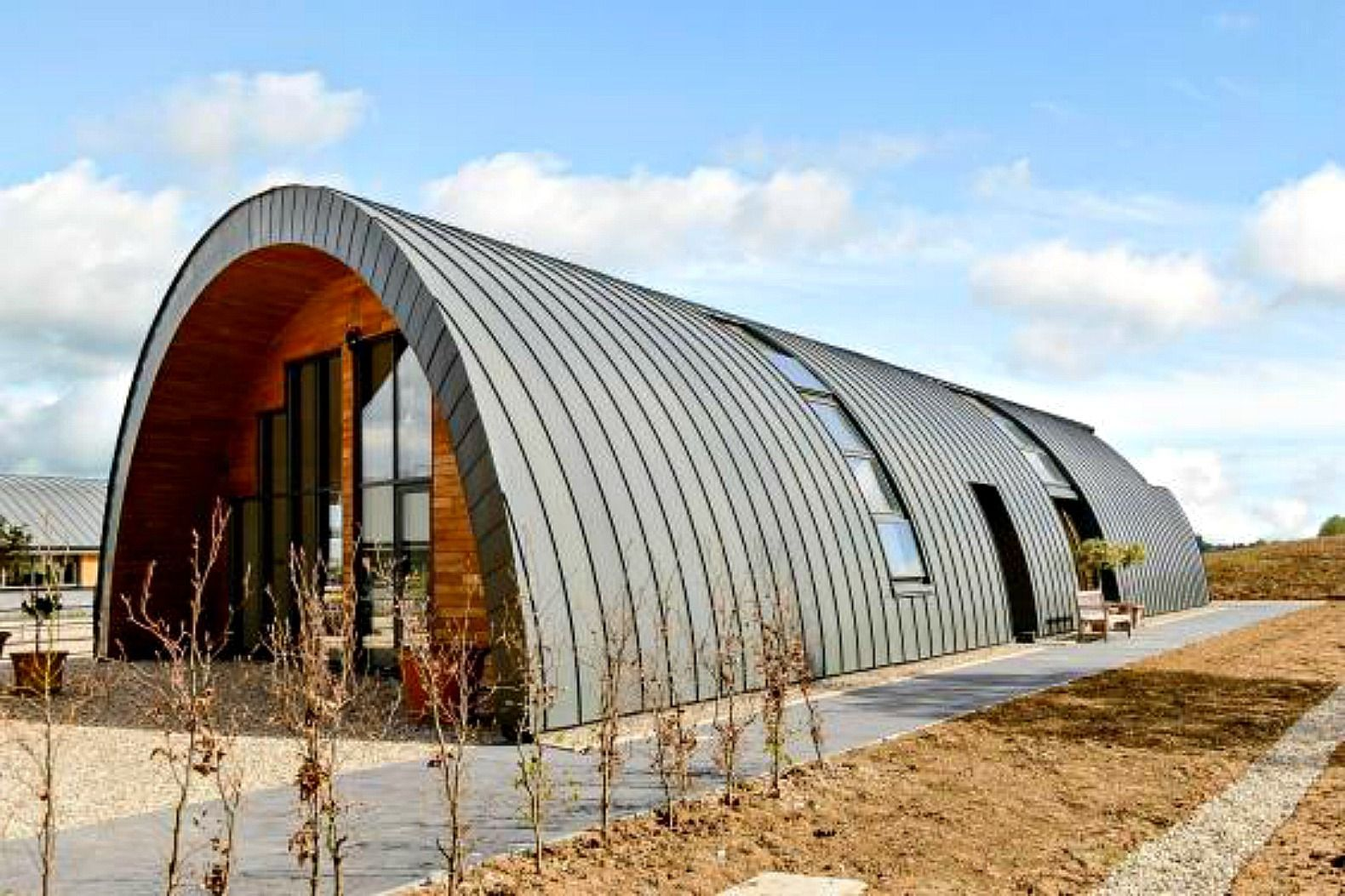 quonset cool homes