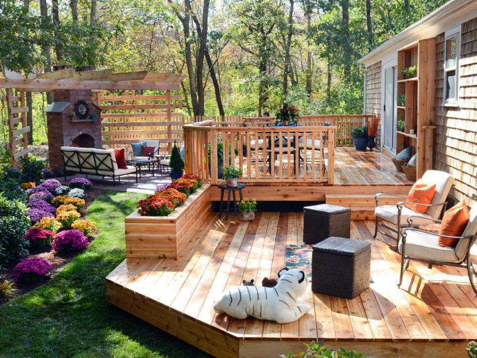 decorating a small deck