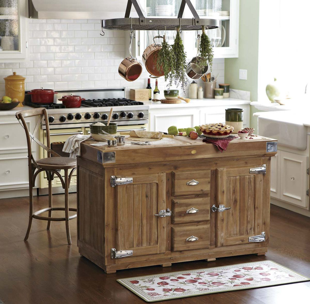 25 Awesome Rustic Kitchen Island Ideas To Try This 2020