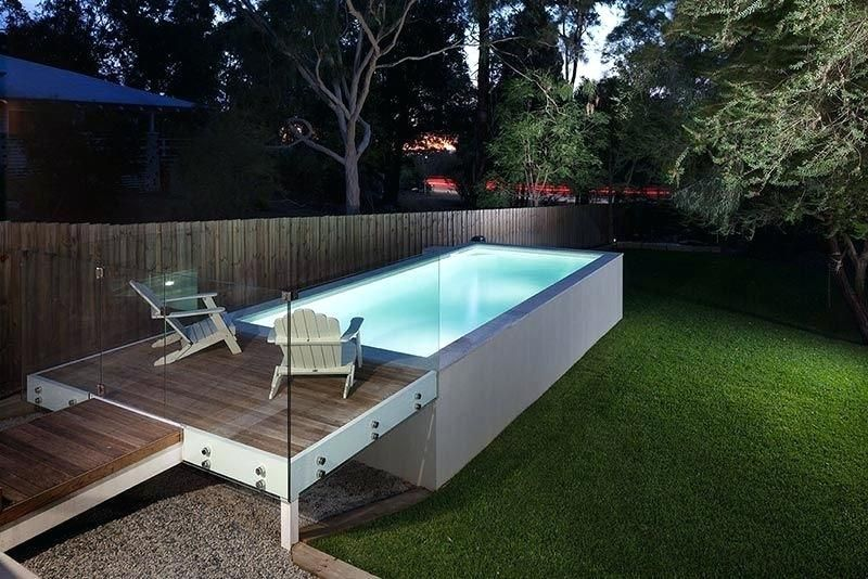 pool deck redo ideas