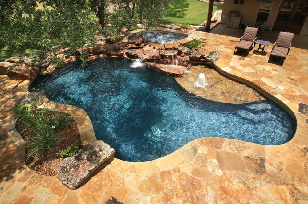 under pool deck ideas