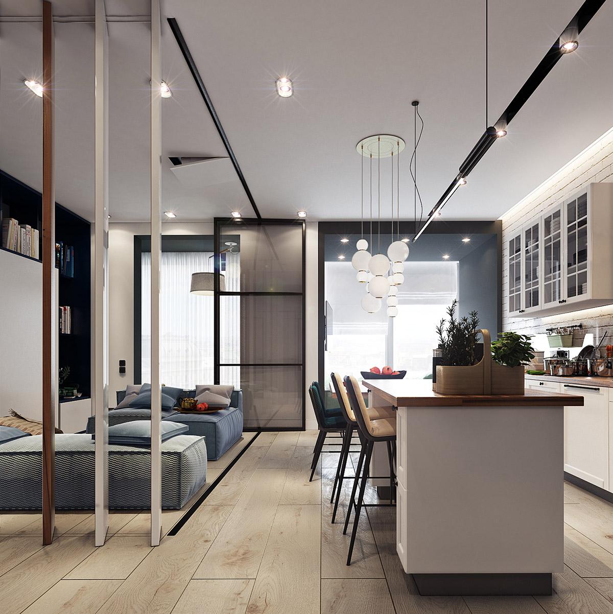 minimalist tiny apartment