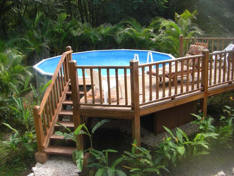pool deck surround ideas