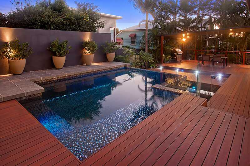 trex pool deck ideas