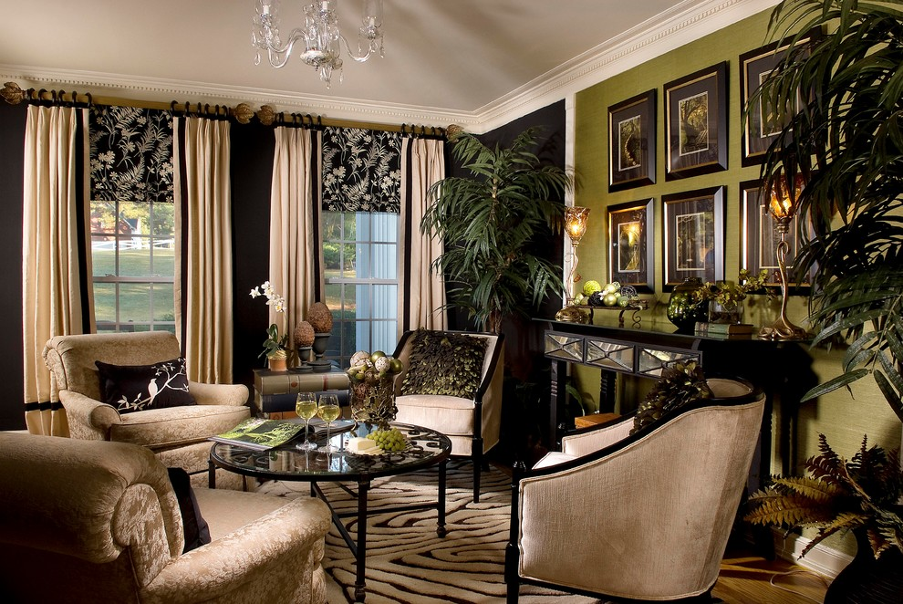 traditional American living room