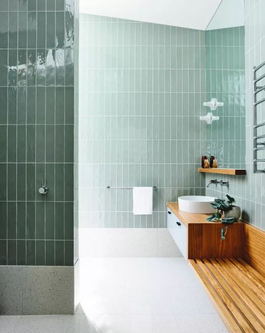 Light Mint Green Tiles