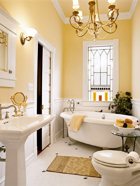 Bathroom with Vintage Vibe