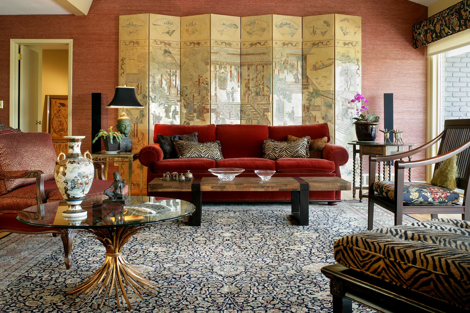 living room in Asian Style